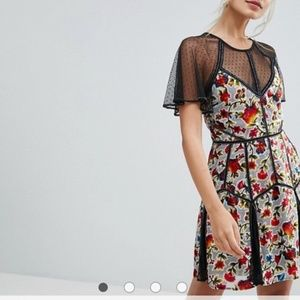 ISO: NOTFORSALE Asos Frock & Frill Floral Dress